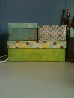 How To Decorate Shoe Boxes For Storage Decorate Shoe Boxes For Storagei Made This One Out Excess