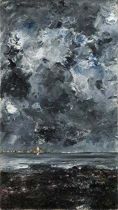 August Strindberg - The Town [1903] | Flickr - Photo Sharing!