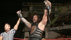 The winner at COC and the new WWE US Champion... Roman Reigns!! Finally all three former members if The Shield have been the US Champ at least once. Dean was the only one who was champ while the Shield were still together.