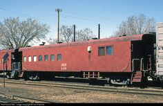 RailPictures.Net Photo: Milwaukee Road Bunk Car X418 at La Crosse, Wisconsin by Tom Farence