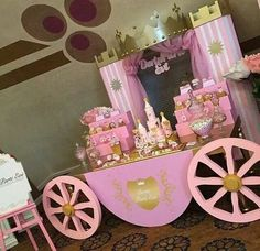 Disney princess birthday party dessert table and decor – Artofit Princess Birthday Party Decorations, Disney Princess Birthday Party, Princess Theme Party, Cinderella Birthday, First Birthday Parties, Party Themes, Themed Parties, Ideas Party, Baby Girl Shower Themes