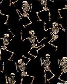 Boo Crew - Skeleton Dance - Black