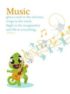 """""""Music gives a soul to the universe, wings to the mind, flight to the imagination and life to everything"""" - Plato Musik dapat menjadikan dunia lebih indah dan lebih berwarna. Tidak hanya bagi orang dewasa, anak-anak juga sangat tertarik dengan musik. Di Petualangan Boci, Si Kecil bisa belajar untuk memainkan nada dan menari dengan cara yang seru dengan aplikasi Boci Play Music and Dance.  Yuk download aplikasinya di smarthphone kamu. #petualanganboci #appforkids #parenting #mom #quote #music"""