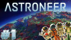 4 Player Astroneer Playlist  Sky-Slide Surfing!
