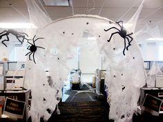 Office Halloween - Spider Hole
