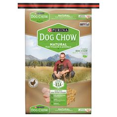 Purina Dog Chow Natural Plus Vitamin and Minerals Dry Dog Food - 16.5lbs