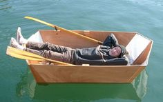 It's the Origami Boat: Foldable, Minimalist, DIY Design : TreeHugger