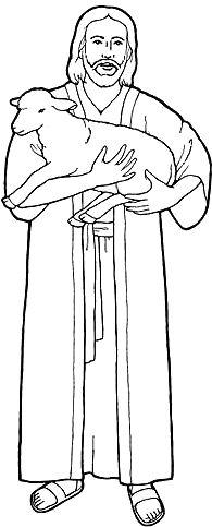Jesus The Good Shepherd Clip Art