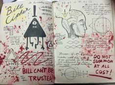 DeviantArt: More Collections Like Gravity Falls Journal 3 Replica - Truth Teeth by leoflynn