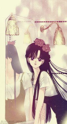 火野レイ / セーラーマーズ Rei Hino / Sailor Mars - art by Naoko Takeuchi for Sailor Moon Sailor Moon Manga, Sailor Mars, Sailor Moon Fan Art, Sailor Saturn, Sailor Moon Crystal, Sailor Venus, Manga Anime, Manga Art, Sailor Moon Aesthetic