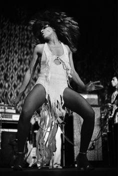 Tina Turner by photographer Lynn Goldsmit