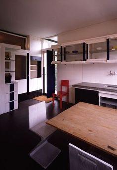 MY ARCHITECTURAL MOLESKINE®: GERRIT RIETVELD: SCHRÖDER HOUSE ...