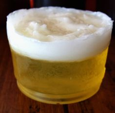 Frothy Beer Soap made with Deep Malt Ale Perfect for Father's Day