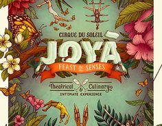 Cirque du Soleil JOYÀ Poster on Behance