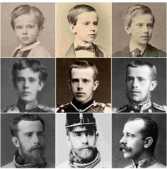 Crown prince Rudolf through the years