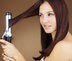 How to make perfect curly hair, just prepare a large barrel curling iron to get beautiful curly hair. For curling for medium hair you can prepare your curl.