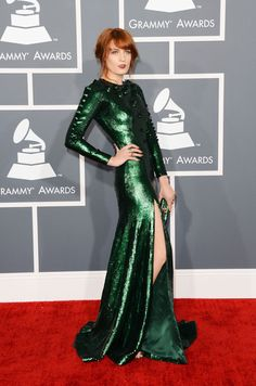 Florence Welch - Givenchy Couture - Grammy Awards