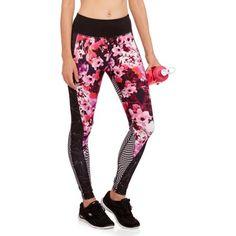 6b4b334d2ba Danskin Now Women s Active Graphic Performance Leggings