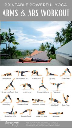 One Song Workouts, Fun Workouts, Yoga Videos, Workout Videos, Yoga Sequences, Yoga Poses, Arm Yoga, Become A Yoga Instructor, Morning Yoga Flow