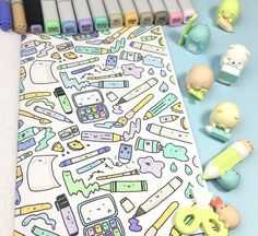 KiraKira Coloring Book - Kawaii Doodle Coloring Fun! – KiraKiraDoodles