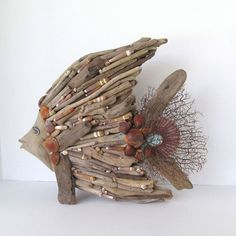 DIY Driftwood fish