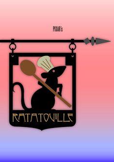 Ratatouille Minimal Movie Posters