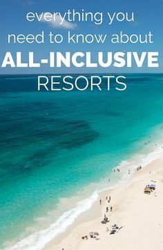 All-inclusive resorts have just as many super fans as major haters. While we've had not-so-great experiences at huge megaresorts with mediocre food and watered-down drinks, we've also stayed in luxurious properties with phenomenal food, and even spa treatments included in the rate. So if you're wondering whether an all-inclusive hotel should be in your future, you've come to the right place. We asked all-inclusive and travel experts the what, when, where, and whys of all-inclusives.
