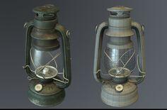 ArtStation - Oil Lamp Dietz, Julien Herpoel