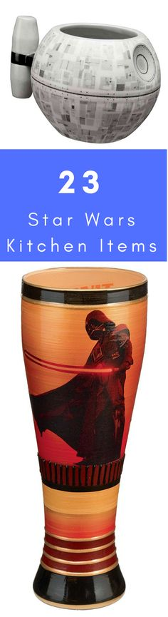 The heart of every home is in the kitchen. If the heart of you or your loved-one is filled with admiration for the famous multi-medium franchise, then why don't you invest in some of these Star Wars kitchen items! Star Wars Kitchen, Original Trilogy, Seen, Geek Stuff, Fun Stuff, All Star, Stars, Cooking Ideas, Wicked