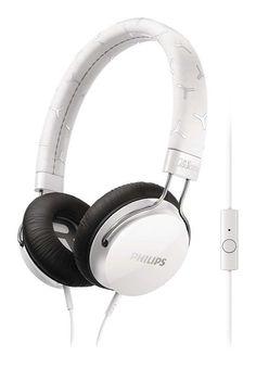¡Chollo! Auriculares con micrófono Philips CitiScape Fixie SHL5305WT por 19 euros.