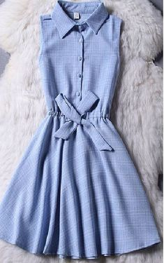 Best 11 Open Shoulder Fluted Sleeve Striped Frill Dress With Ribbons – SkillOfKing. Pretty Outfits, Pretty Dresses, Beautiful Dresses, Cool Outfits, Summer Outfits, Girls Fashion Clothes, Girl Fashion, Fashion Dresses, Fashion News
