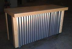 Custom Made Corrugated Metal Bar