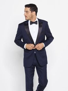 12 Rules That Will Clearly Guide You Through Your Tuxedo Decision Tuxedo Wedding, Wedding Suits, Wedding Tuxedos, Harry Wedding, Wedding Groom, Wedding Dress, Navy Blue Tuxedos, Wearing A Tuxedo, Groom Attire