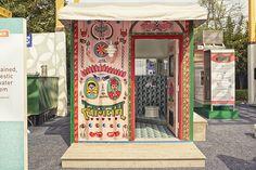 caltech   kohler develop mobile restroom as self-sufficient container - designboom | architecture