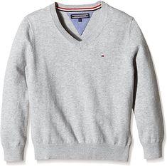 Passt und gefällt  Bekleidung, Jungen, Pullover & Strickjacken Tommy Hilfiger, Pullover Sweaters, Athletic, Jackets, Fashion, Sweater Cardigan, Guys, Clothing, Boys Sweaters