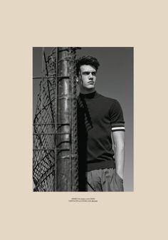 Xavier Serrano pictured in Hermes' spring-summer 2016.