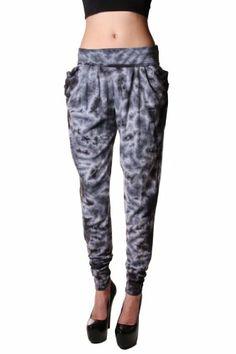 Cemi Ceri Womens Tye Dye Jersey Harem Pant $30