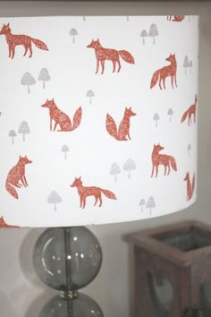 This beautiful lampshade. | 27 Essential Items For Bonafide Fox Lovers