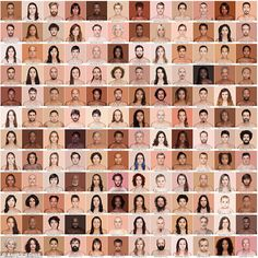 Brazilian photographer Angelica Dass has taken portraits of more than 2,500 people from ac...