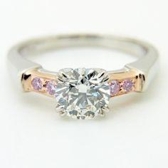 179499【送料無料】【中古】【HARRYWINSTON】【ハリーウィンストン】トリストリングPT950×K18PG×ダイヤモンド0.72ct×ピンクダイヤモンド#6.5HW6.5号指輪ブランドジュエリー