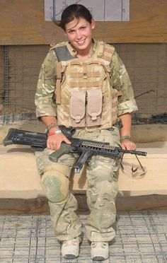 Lance Corporal Kylie Watson, 23, is one of only four women in history to have been awarded the Military Cross. Just 5ft 1ins she showed exceptionally bravery as a medic in Helmand Province