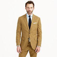 J.Crew - Ludlow suit jacket in Italian cotton piqué