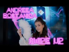 Andreea Bostanica - Swipe Up (Official Video) Rainbow, Neon Signs, Funny, Youtube, Instagram, Management, Photos, Rain Bow, Rainbows