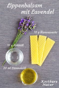 Lavender lip balm - natural care and fragrance for chapped lips Cheap . - Lavender lip balm – natural care and fragrance for chapped lips Cheaper lip balm from the supermar - Diy Lip Gloss, Lip Gloss Colors, Smoky Eye, Lip Care, Body Care, Diy Beauty Room, Lip Shapes, Natural Lip Balm, Natural Makeup
