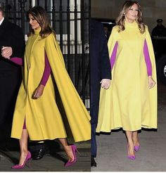 Standing Poses, First Lady Melania Trump, Designer Evening Dresses, Duster Coat, Jackets, Beautiful, Style, Fashion, Down Jackets