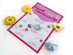 SOLUZIONI PER STUPIRE! Consigli creativi per sorprendere con un piccolo pensiero. 1) Inserisci il CakePops in un mazzo di fiori, tra le pagine di un libro, tra i nastri di un pacchetto regalo. 2) Scrivi all'interno il tuo messaggio! 3) Puoi anche utilizzarlo come scatolina ed inserire direttamente il regalo all'interno. - Scopri i CakePops CarD-esign su  http://conceptstore.infinitodesign.it/collezioni/Cake-pops-card-design-biglietti-3d