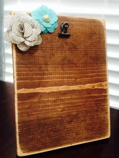 Distressed Wooden Picture Frame on Etsy, $16.00