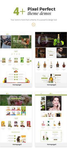 Ogani – Organic Food Store WordPress Theme