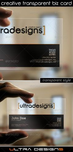 Photography transparent business card business card design photography transparent business card business card design pinterest transparent business cards business cards and business flashek Choice Image