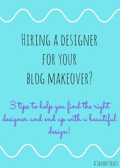 Blog Makeover Tips to help you turn your blog design dream into a reality!